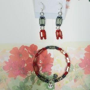 Jewelry - Memory Wire Double Strand Cuff Bracelet